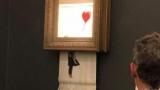 Картину Бэнкси имеют самоуничтожения после продажи на аукционе Sotheby\'s