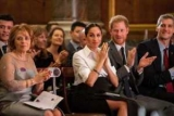 Светский выход, Меган Марк и принц Гарри на Endeavour Fund Awards
